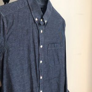 Other - Chambray shirt Blue XS
